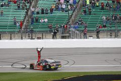 NASCAR: 21 oktober Hollywood-Casino 400 Stock Afbeeldingen