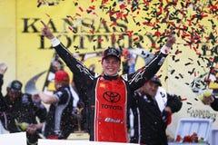 NASCAR: 21 oktober Hollywood-Casino 400 Stock Afbeelding