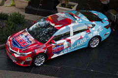 NASCAR Pace Car Stock Image