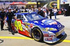 NASCAR - Patriottische #48 van Johnson Royalty-vrije Stock Foto