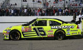 NASCAR - Paul Menard's #15 COT. Paul Menard's #15 Slyvania Car of Tomorrow waits on pit road for the start of the first race of the 2007 Chase for the NASCAR Stock Photo