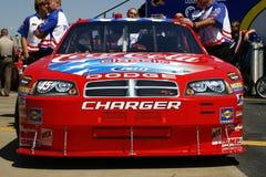 NASCAR - Petit attend l'inspecti Image libre de droits