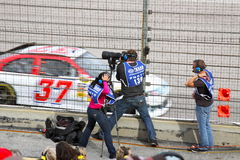 Nascar Photo Crew Stock Image