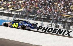 NASCAR : Pièces d'auto d'o'Reilly de contrôleur du 15 novembre Images libres de droits