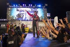 NASCAR: Piezas de automóvil federadas el 12 de septiembre 400 Fotos de archivo
