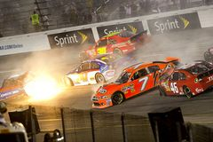 NASCAR : Pistaches merveilleuses 400 du 10 septembre Photos stock