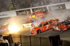 NASCAR: Pistachos maravillosos 400 del 10 de septiembre Fotos de archivo