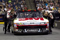 NASCAR:  Pit Crew Challenge Biffle Royalty Free Stock Images