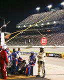 NASCAR - Pit Crew ,Officials, Fans Richmond Stock Photography