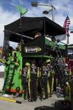 NASCAR pit road at Phoenix International Raceway. Pit crew Royalty Free Stock Photography