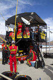 NASCAR pit road at Phoenix International Raceway Stock Photos