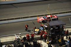 NASCAR pit stop Stock Image