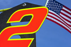 NASCAR : Pitboard LifeLock.com 400 Images libres de droits