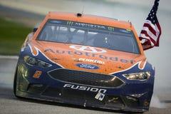 NASCAR : Plis du 5 mars d'honneur QuikTrip 500 Images libres de droits