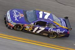NASCAR: Prática do tiroteio de fevereiro 4 Budweiser imagens de stock royalty free