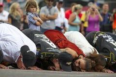 NASCAR : PRÉSENTS ROYAUX de COURONNE du 27 juillet, JOHN WAYNE WALDING 400 Photo libre de droits