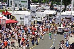 NASCAR - Pre atividades da raça fora da trilha Fotografia de Stock Royalty Free