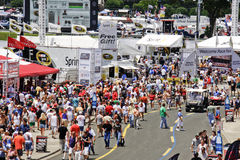 NASCAR - Pre Race Activities Outside the Track royalty free stock photography