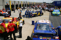 NASCAR - Pre Race Inspection Royalty Free Stock Image