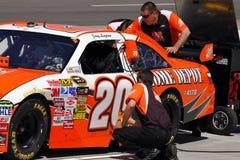 NASCAR - Preperations finale! Fotografia Stock Libera da Diritti