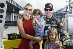 NASCAR: PRESENTE REALI della CORONA del 27 luglio, JOHN WAYNE WALDING 400 Immagine Stock Libera da Diritti
