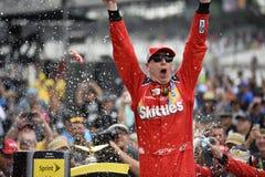 NASCAR: Presentes reales de la corona del 26 de julio Jeff Kyle 400 en el ladrillar Imágenes de archivo libres de regalías