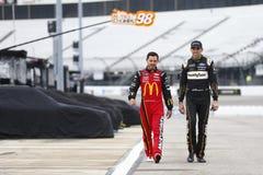 NASCAR: Proprietários 400 de Toyota do 12 de abril fotografia de stock royalty free