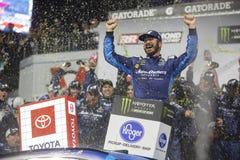 NASCAR: Proprietários 400 de Toyota do 13 de abril fotografia de stock
