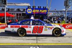 NASCAR - Protector nacional Chevy de #88 del Jr del valle Fotos de archivo libres de regalías