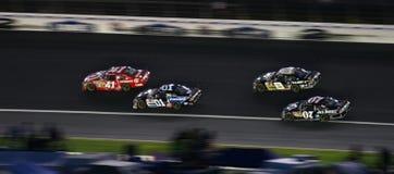 NASCAR - Quattro cavallerizzi Fotografia Stock
