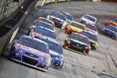 NASCAR: Raça da noite do NRA de Bass Pro Shops do 19 de agosto Fotografia de Stock Royalty Free