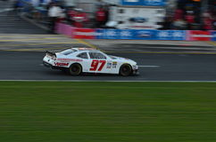 Nascar Race car. High speed car at the Nascar race royalty free stock photos