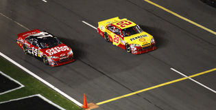 NASCAR - Race Off Pit Road! Stock Photos