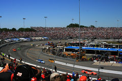 NASCAR - racin' in Richmond Stock Image