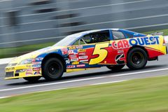 NASCAR racing Royalty Free Stock Images