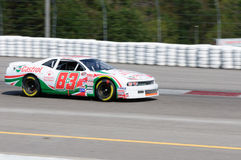 Nascar racing car Stock Image