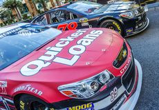 Nascar racing cars Stock Photos