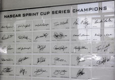 Nascar Racing Champions Stock Images