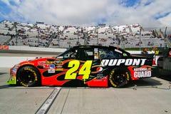 NASCAR - Raza de Du Pont Chevy de Gordon pre Fotos de archivo libres de regalías