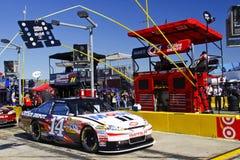 NASCAR - Rectángulo del hueco de Stewart Imagen de archivo libre de regalías