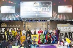 NASCAR: Ricambi auto organizzati in modo federativo il 12 settembre 400 Fotografia Stock Libera da Diritti