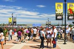 NASCAR - Richmond Fans Pre Race Stock Images