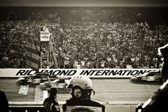 NASCAR - Richmond Race Start Stock Photography