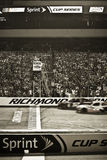NASCAR - Richmond Start Finish Line Royalty Free Stock Images