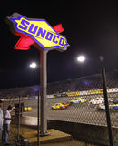 NASCAR - Richmond Sunoco Turn 4 at Night Stock Photo