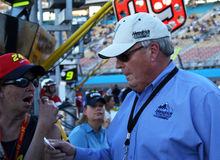 NASCAR Rick Hendricks Motorsports fotografia de stock royalty free