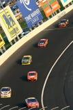 NASCAR - roulement par le coin Image libre de droits