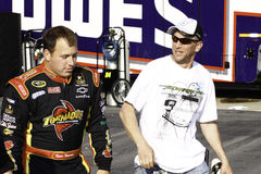 NASCAR - Ryan Newman and a Fan Stock Photography