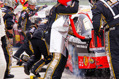 NASCAR - Ryan Newman Pit Stop Royalty Free Stock Photography