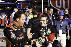 NASCAR - Ryan Newman Signs Autographs for Fans Stock Images